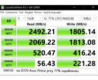WD 500GB M.2 PCIe NVMe Blue SN550 - Łukasz