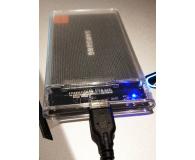 "Test Unitek Obudowa do dysku 2.5"" (USB 3.1, UASP)"