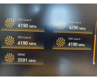 HyperX 16GB (2x8GB) 3600MHz CL17 Fury RGB - Łukasz