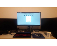 Test Dell S3220DGF Gaming Curved