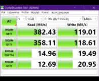 Test Samsung 256GB BAR Plus Champaign Silver 400MB/s