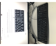 Test Logitech K120 Keyboard czarna USB