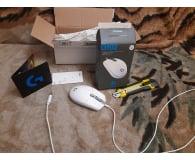 Test Logitech G102 LIGHTSYNC biała