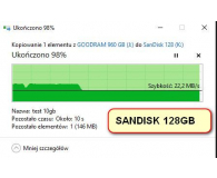 SanDisk 128GB Ultra Dual Drive Luxe USB Type-C 150MB/s - Maciej