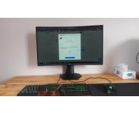 Test Dell S2721HGF Curved