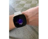 Fitbit Sense złoto beżowy + Fitbit Premium - Nadia