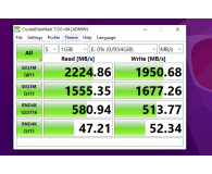Test Intel 1TB M.2 PCIe NVMe 665p Series