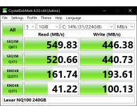 "Lexar 240GB 2,5"" SATA SSD NQ100 - Mieszko"