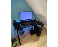 Recenzja Silver Monkey Biurko gamingowe GD-120 czarne