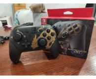Nintendo Switch Pro Controller - Monster Hunter Rise - Bartosz