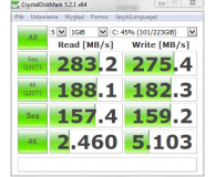 Test  GOODRAM 240GB 2,5'' SATA SSD Iridium PRO - Posiadacz