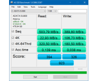 Test  ADATA 512GB 2,5'' SATA SSD Ultimate SU800 3D NAND - Michał