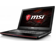 Opinia o  MSI GP62 Leopard Pro i7-7700HQ/8GB/1TB GTX1050Ti - JUSER