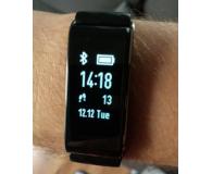 Test  Huawei Band A2 czarny - dexiolek