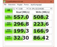 """Test  GOODRAM 240GB 2,5"""" SSD MLC IRDM PRO (GEN2) - CrisPell"""