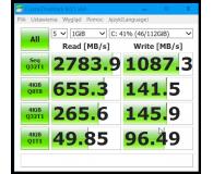 Test  ADATA 240GB M.2 PCIe XPG SX8200 - Dominik