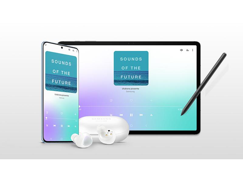 kup smartfon lub tablet Galaxy i odbierz słuchawki w prezencie
