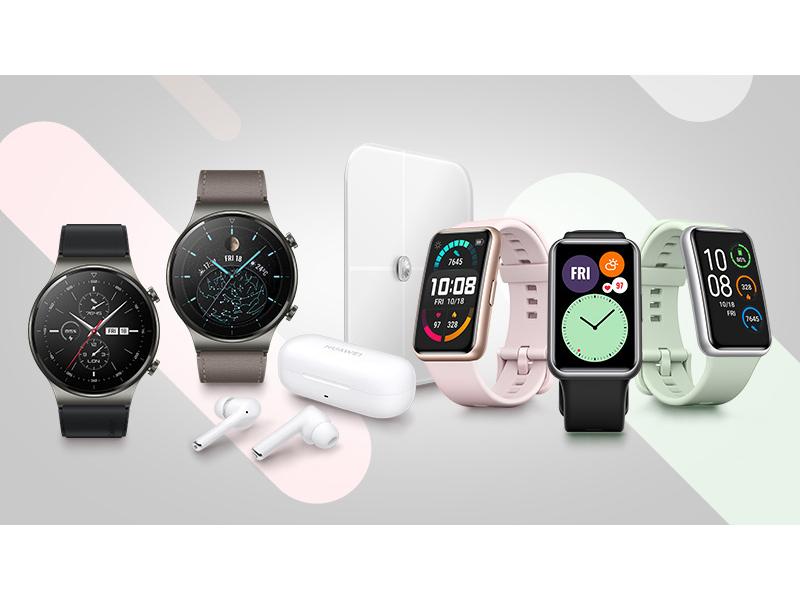 zamów w przedsprzedaży Huawei Watch GT 2 PRO lub Watch Fit i zgarnij prezenty