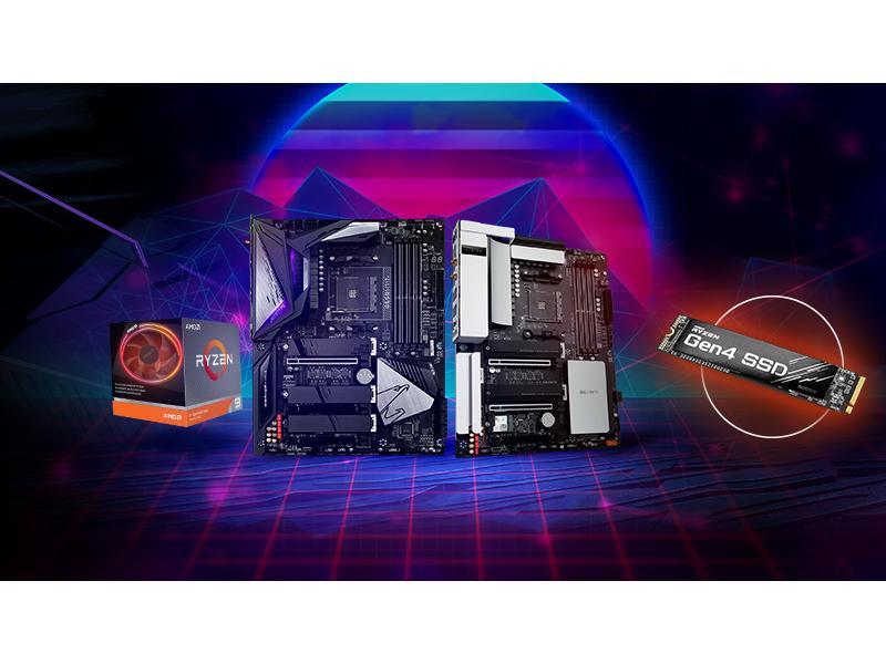 kup jedną z płyt AORUS wraz z procesorem AMD, dodaj opinię i odbierz dysk SSD w prezencie