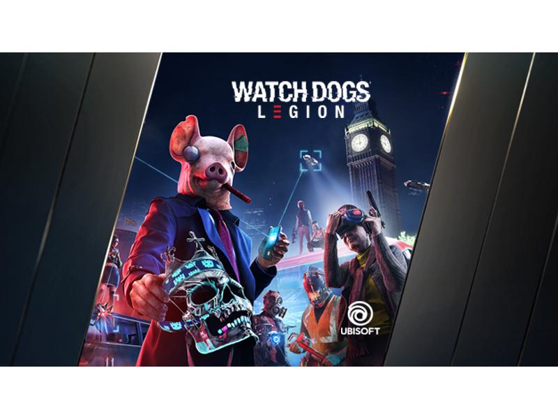 kup kartę graficzną GeForce RTX serii 30 i zgarnij Watch Dogs: Legion oraz roczną subskrypcją GeForce NOW