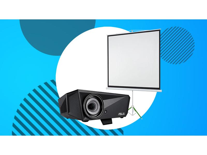 kup projektor Asus, a ekran na statywie EcoBoards masz w prezencie