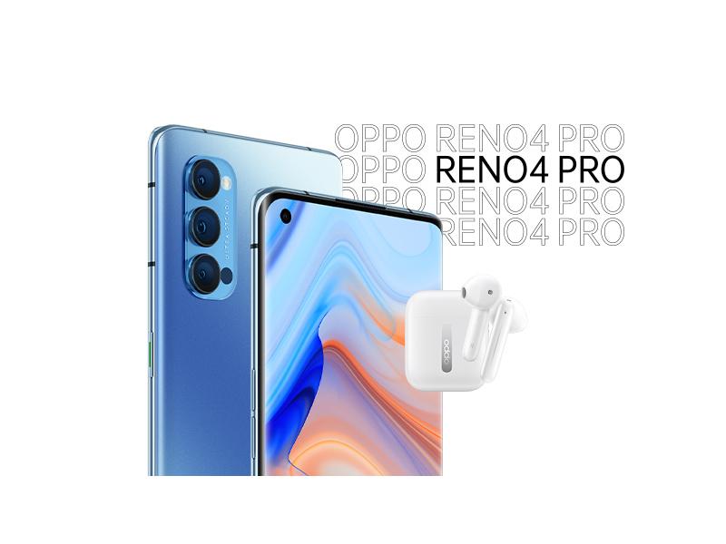 kup OPPO Reno 4 5G w przedsprzedaży i odbierz słuchawki Enco Free za 1 zł