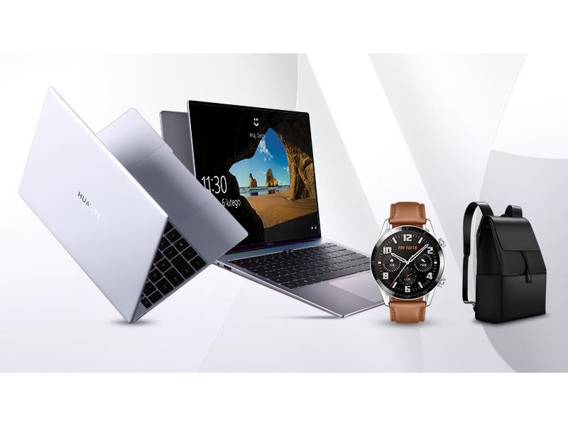 kup przedsprzedaży HUWAWEI MateBook X lub MAteBook 14 i odbierz wybrane akcesoria w prezencie