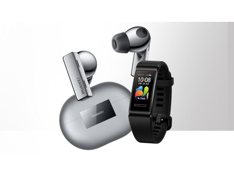 kup w przedsprzedaży bezprzewodowe słuchawki Huawei Buds Pro a dostaniesz inteligentną opaskę Band 4 Pro w prezencie