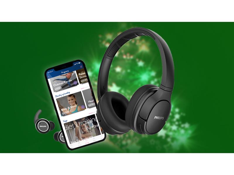 kup słuchawki sportowe Philips i odbierz kupon o wartości do 89 zł do fit-aplikacji