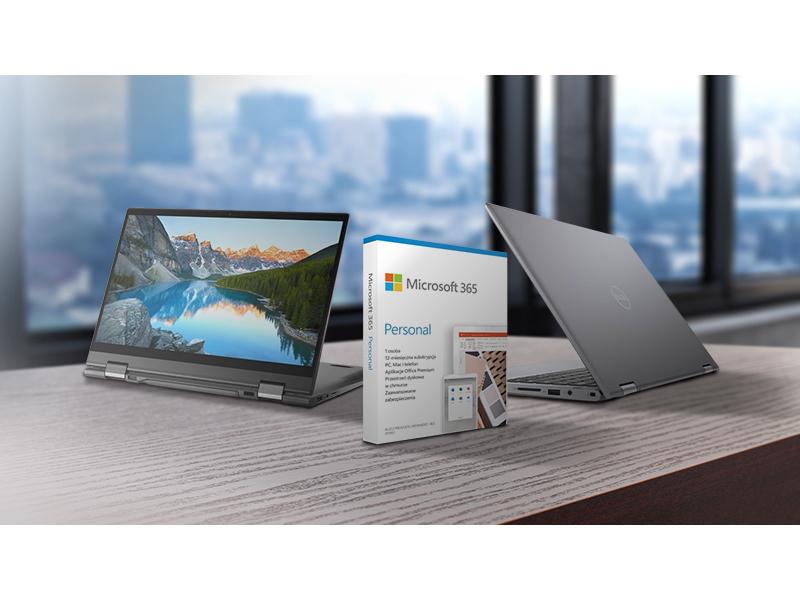 laptopy Dell Inspiron teraz w prezencie z Microsoft 365 Personal