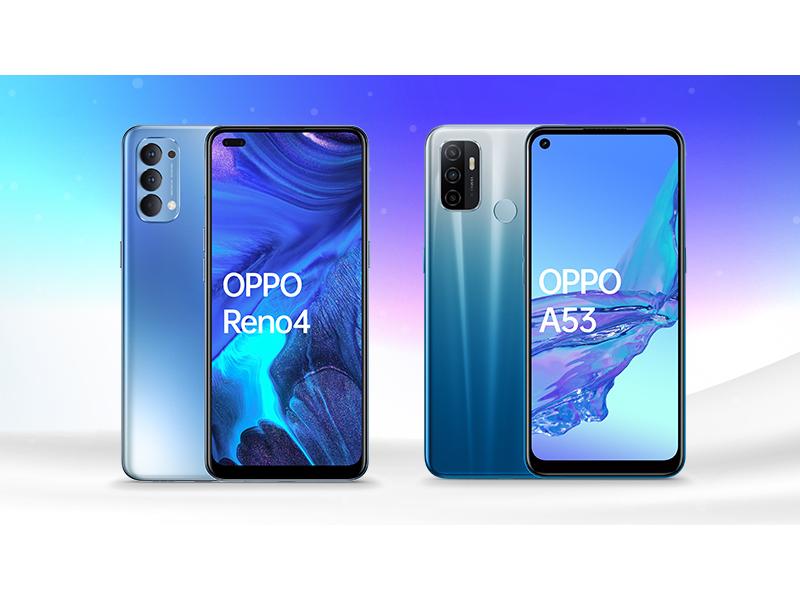 wybierz smartfon OPPO RENO4 lub OPPOA53 w niższej cenie