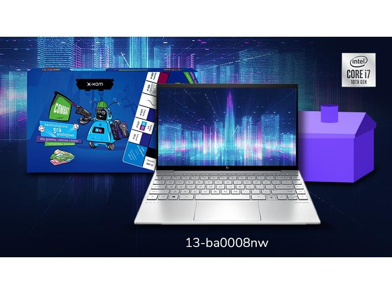 wybierz laptop HP Envy 13 z procesorem Intel®️️ Core™️️ i7 i odbierz planszówkę