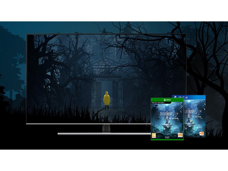 wybierz telewizor Samsung, grę Little Nightmares 2 masz w prezencie