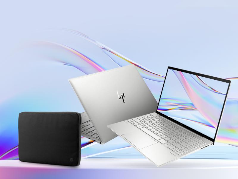 kup laptop HP Envy 13 z procesorem Intel®️️️ Core™️️️ i5 i odbierz etui w prezencie