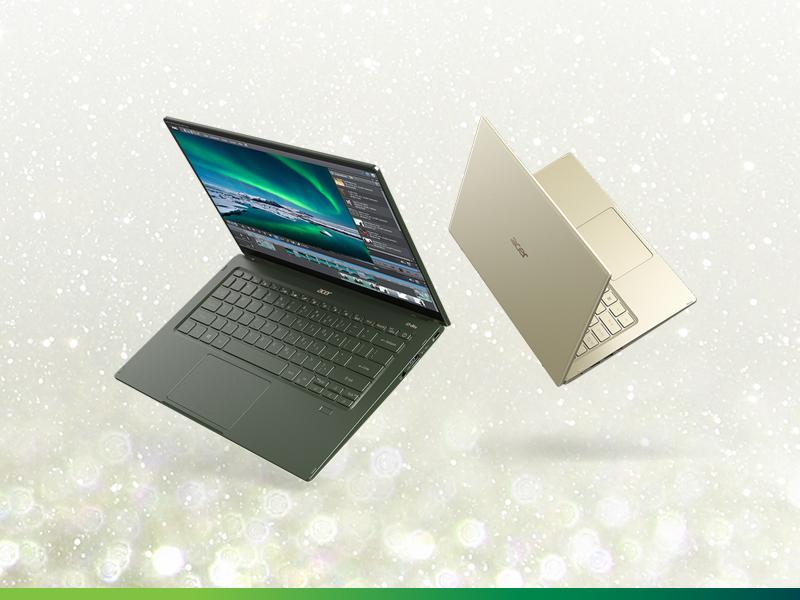 kup wybrany laptop Acer Swift i odbierz przedłużenie gwarancji do 4 lat