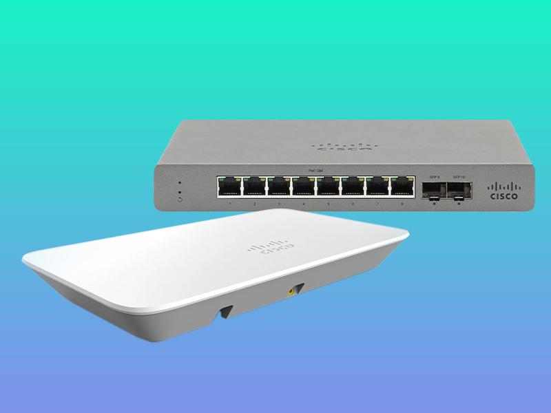 kup switch, a punkt dostępowy Cisco Meraki Go dostaniesz gratis