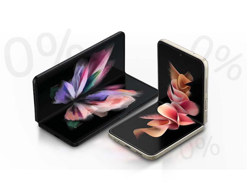 kup Galaxy Z Fold3 lub Flip3 5G w 30 ratach 0% i zyskaj 2 raty gratis