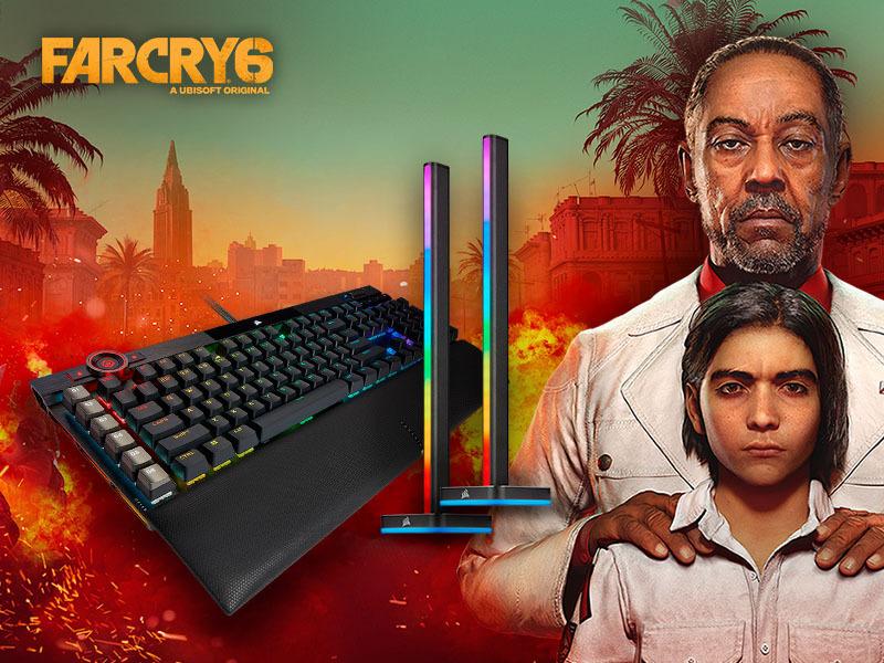 kup wybrane produkty Corsair i zgarnij kod do gry FarCry6 gratis