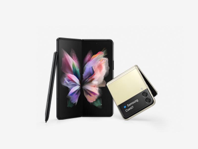 wybierz Galaxy Z Flip3 lub Z Fold3 i zyskaj nawet 1700 zł