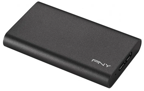 Dysk zewnetrzny PNY Elite Portable SSD 480GB USB 3.0