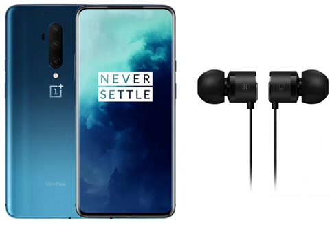 OnePlus 7T Pro 8/256GB Dual SIM Haze Blue + słuchawki Bullets