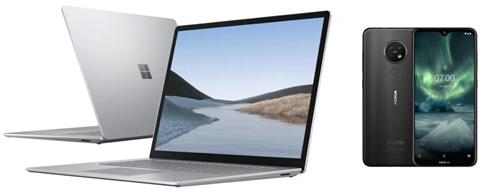 Microsoft Surface Laptop 3 Ryzen 5/8GB/128 + Nokia 7.2