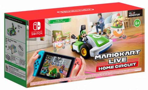 Gra na Switch Mario Kart Live Home Circuit - Luigi