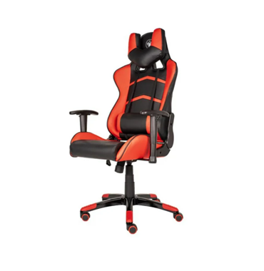 Fotel gamingowy Silver Monkey SMG-400 (Czarno-Czerwony)