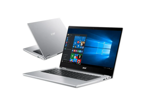 """Notebook / Laptop 14,1"""" Acer Spin 1 N6000/8GB/256/W10 Dotyk"""