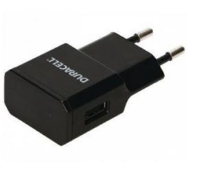 Duracell ładowarka sieciowa USB (1A)