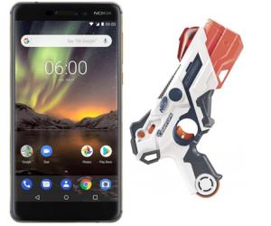 Nokia 6.1 Dual SIM + NERF Laser Ops