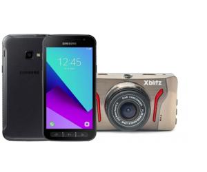 Samsung Galaxy Xcover 4 Dark Silver + Xblitz Ghost Full HD