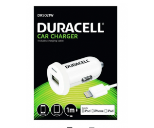 Duracell Ładowarka samochodowa 2.4 A + kabel Light