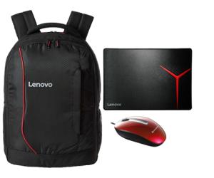 Zestaw Lenovo plecak + mysz + podkładka
